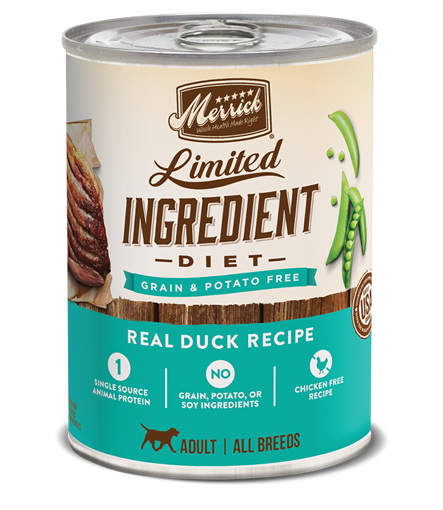 Picture of Merrick - Limited Ingredient Diet Real Duck Recipe Grain-Free Canned Dog Food