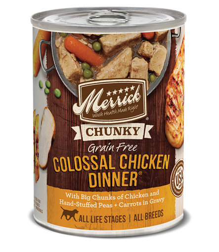 Picture of Merrick D GF Chunky Colossal Chicken 12.7 oz